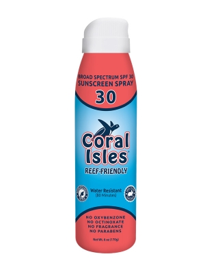 6-oz SPF 30 Spray-on Broad Spectrum Reef Friendly Sunscreen