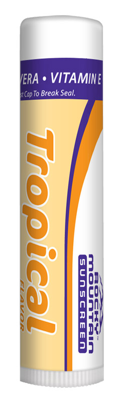 Rocky Mountain Sunscreen Lip Balm Tropical SPF15